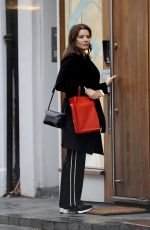 NIGELLA LAWSON Out and About in London 12/22/2017