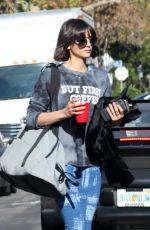 NINA DOBREV Heading to a Gym in Los Angeles 12/15/2017