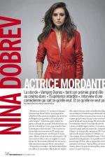 NINA DOBREV in Cosmopolitan Magazine, December 2017
