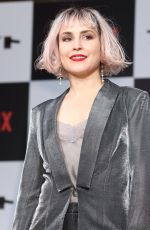 NOOMI RAPACE at Bright Premiere and Photocall in Tokyo 12/19/2017