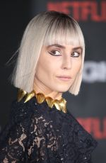NOOMI RAPACE at Bright Premiere in London 12/15/2017