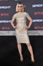 NOOMI RAPACE at Bright Premiere in Los Angeles 12/13/2017