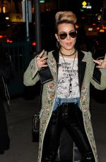 NOOMI RAPACE Night Out in New York 11/30/2017