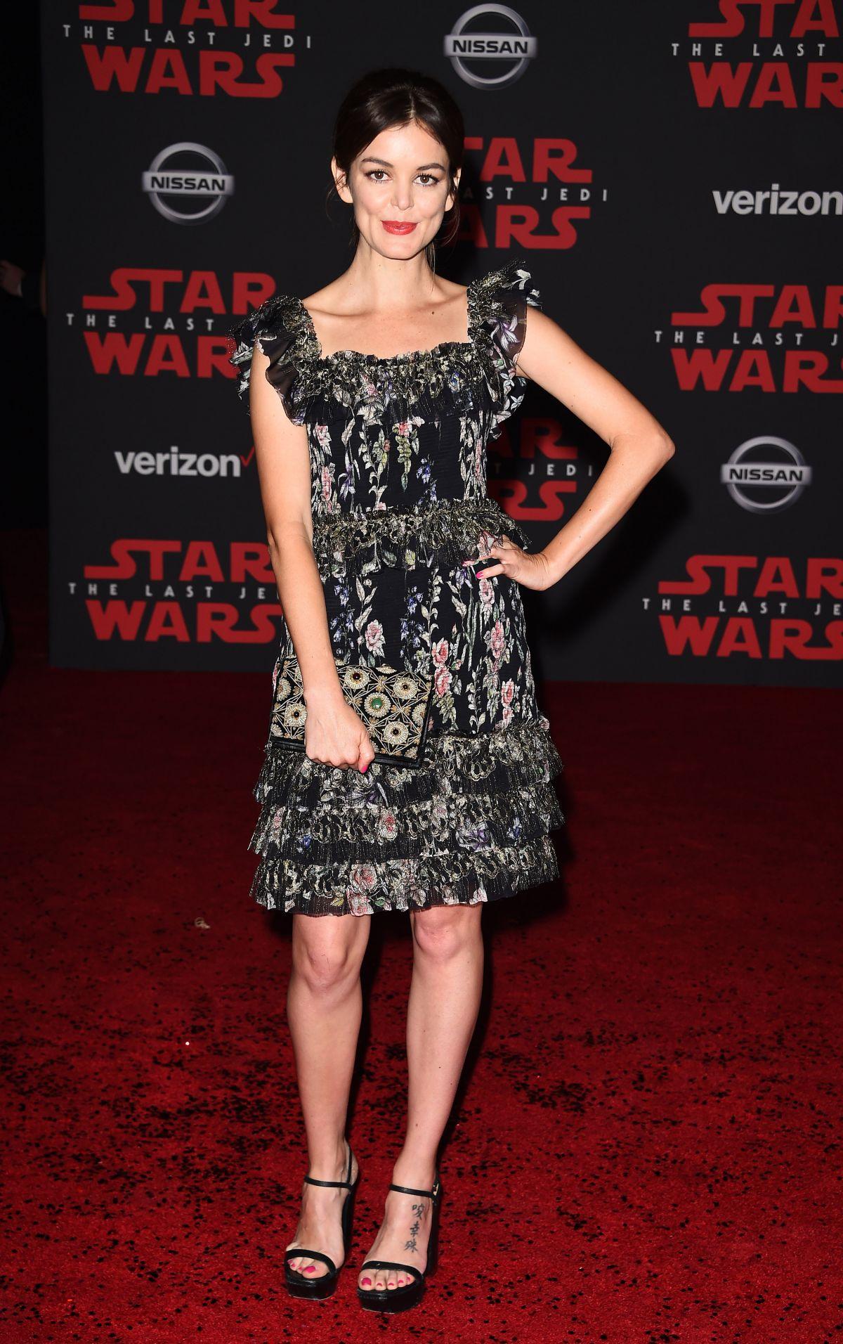 NORA ZEHETNER at Star Wars: The Last Jedi Premiere in Los ...
