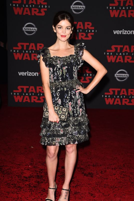 NORA ZEHETNER at Star Wars: The Last Jedi Premiere in Los Angeles 12/09/2017