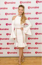 OLA JORDAN at Lorraine Show in London 12/20/2017