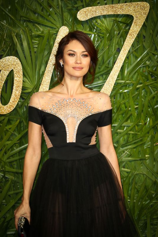 OLGA KURYLENKO at British Fashion Awards 2017 in London 12/04/2017