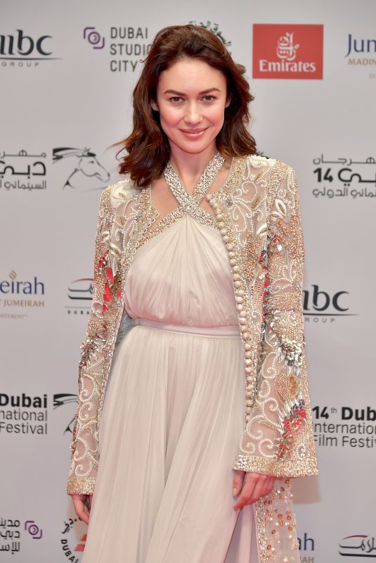 OLGA KURYLENKO at The Death of Stalin Premiere at 2017 Dubai International Film Festival 12/08/2017