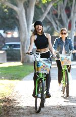 OLIVIA CULPO at Paul Frank + Weho Pedals Bike Share Program in Los Angeles 11/30/2017