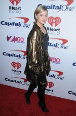 OLIVIA HOLT at Z100 Jingle Ball in New York 12/08/2017