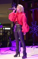 OLIVIA HOLT Performs at Atrium Holiday Concert Series in Century City 12/14/2017