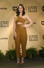 OLIVIA MUNN at 24th Screen Actors Guild Awards Nominations in Los Angeles 12/13/2017