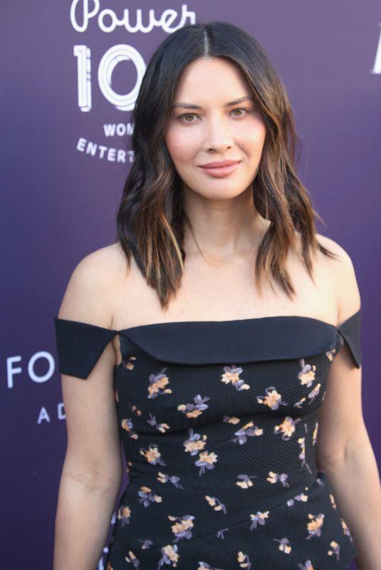 OLIVIA MUNN at Hollywood Reporter