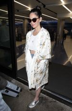 OLIVIA MUNN at Los Angeles International Airport 12/11/2017