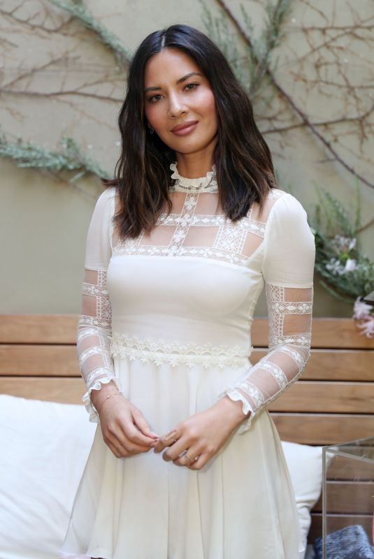 OLIVIA MUNN at Women with Sole Luncheon in Los Angeles 12/01/2017