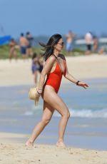 OLIVIA MUNN in Swimsuit at a Beach i Hawaii 12/09/2017