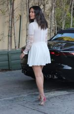 OLIVIA MUNN Leaves Lucques Restaurant in Beverly Hills 12/01/2017