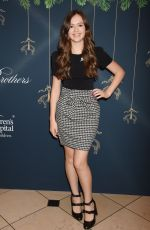 OLIVIA SANABIA at Brooks Brothers Holiday Celebration with St Jude Children's Research Hospital in Beverly Hills 12/02/2017