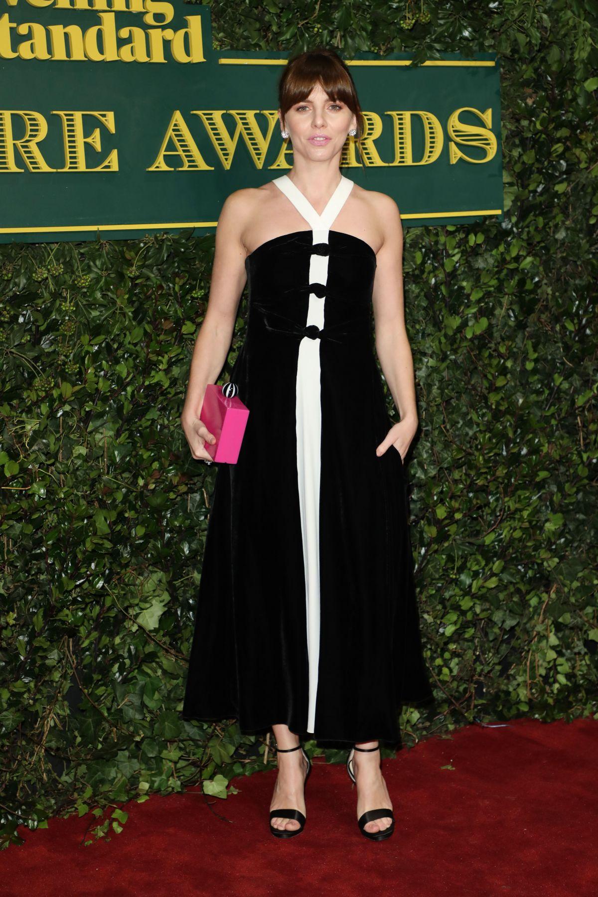 OPHELIA LOVIBOND at London Evening Standard Theatre Awards ...