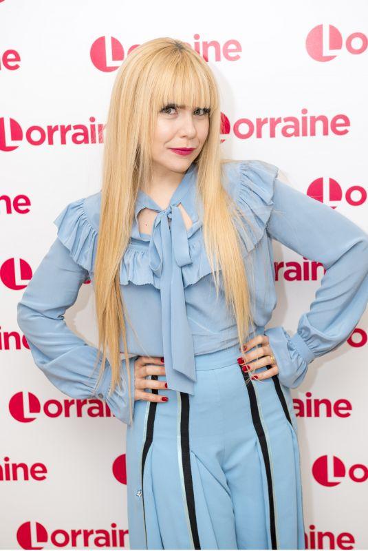 PALOMA FAITH at Lorraine Show in London 12/13/2017