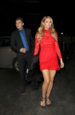 PARIS HILTON and Chris Zylka at a Party in West London 12/14/2017
