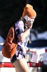 PARIS JACKSON Out Shopping in Los Angeles 12/29/2017