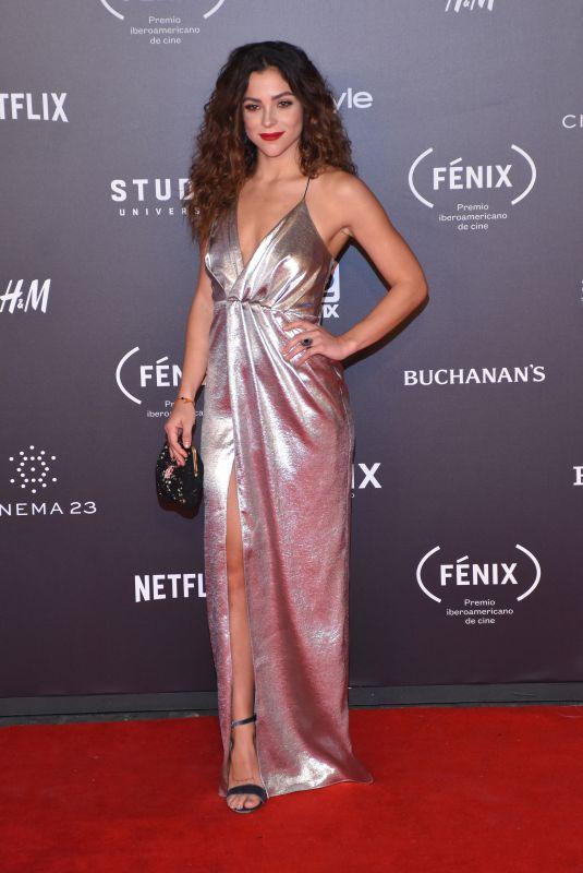 PAULINA DAVILA at Fenix Film Awards in Mexico City 12/06/2017