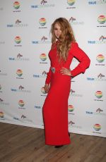 PAULINA RUBIO at 7th Annual Cyndi Lauper and Friends Home for the Holidays Benefit Concert in New York 12/09/2017