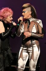 PEACHES at 7th Annual Cyndi Lauper and Friends Home for the Holidays Benefit Concert in New York 12/09/2017