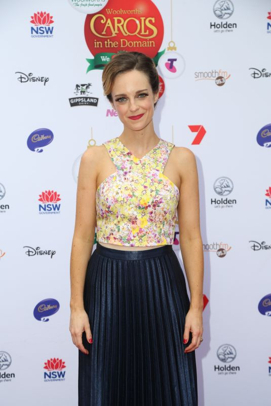PENNY MCNAMEE at Woolworths Carols in the Domain Pre-show VIP Party in Sydney 12/17/2017