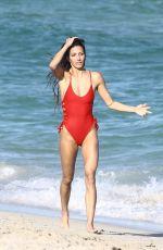 PETRA KLADIVOVA in Swimsuit on the Beach in Miami 12/10/2017