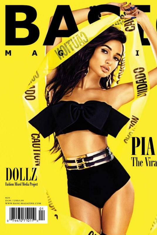 PIA MIA PEREZ in Basic Magazine Vibes Issue