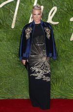 PINK at British Fashion Awards 2017 in London 12/04/2017