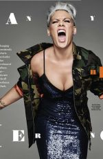 PINK in Cosmopolitan Magazine, January 2018