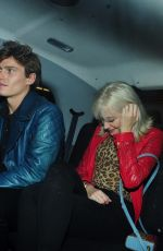 PIXIE LOTT and Oiver Cheshire Night Out in London 12/22/2017
