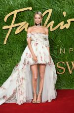 POPPY DELEVINGNE at British Fashion Awards 2017 in London 12/04/2017