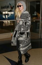 PORTIA DOUBLEDAY at LAX Airport in Los Angeles 12/16/2017