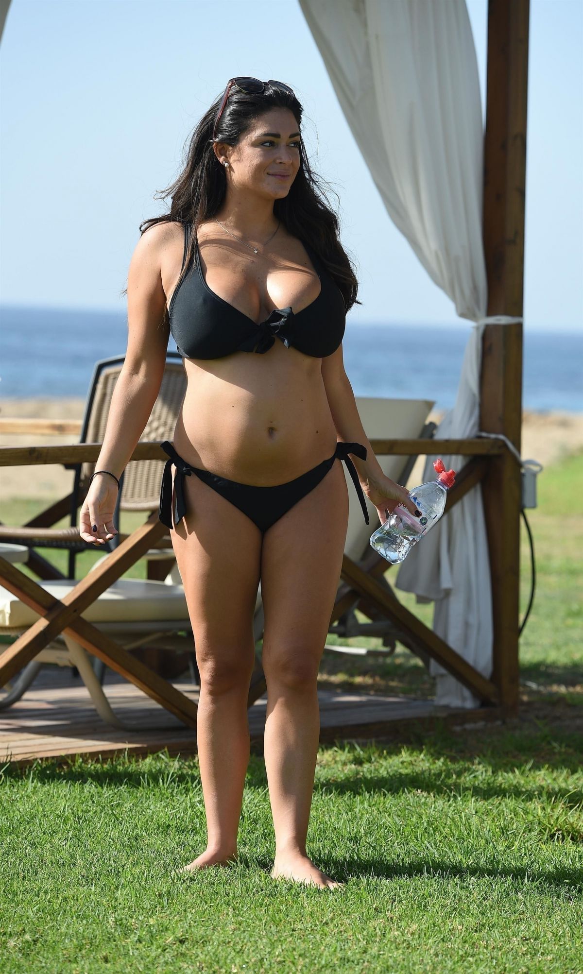 Casey Batchelor in a Bikini on the pool in Lanzarote Pic 32 of 35