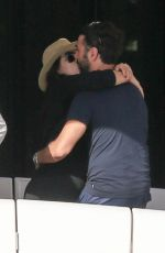Pregnant EVA LONGORIA and Jose Baston at a Boat Ride in Miami 12/23/2017