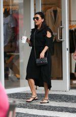 Pregnant EVA LONGORIA Out in Miami Beach 12/26/2017