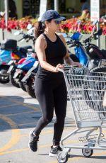 Pregnant EVA LONGORIA Shopping at Whole Foods in Miami 12/24/2017