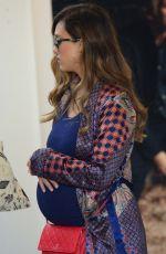 Pregnant JESSICA ALBA Out in Venice Beach 12/03/2017