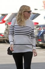 Pregnant KIRSTEN DUNST Out and About in Santa Monica 12/20/2017