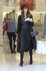 Pregnant NICOLE TRUNFIO Out in Los Angeles 12/22/2017