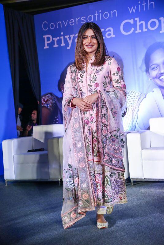 PRIYANKA CHOPRA at Unicef India Press Conference in New Delhi 12/23/2017