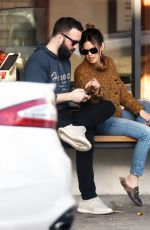 RACHEL BILSON Out for Coffee in Los Angeles 12/04/2017