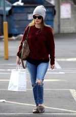 RACHEL BILSON Out Shopping in Studio City 12/28/2017