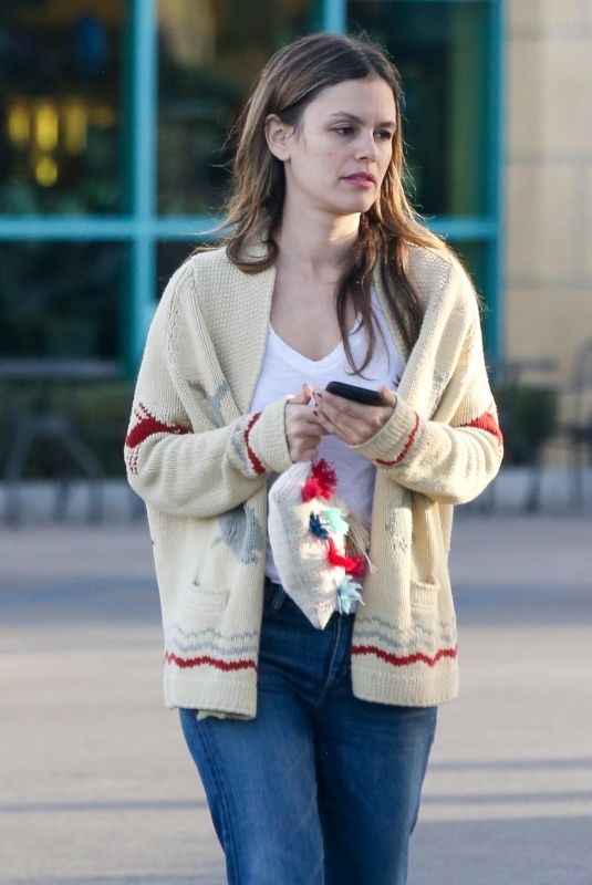 RACHEL BILSON Shopping for a Christmas Tree in Toluca Lake 12/18/2017