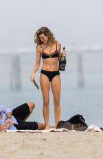 RACHEL MCCORD in Bikini on the Beach in Malibu 12/30/2017
