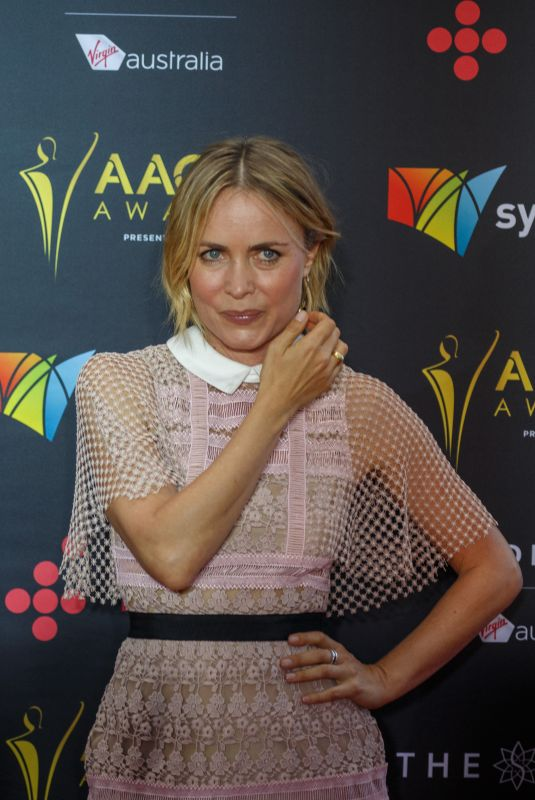 RADHA MITCHELL at 2017 AACTA Awards in Sydney 12/06/2017